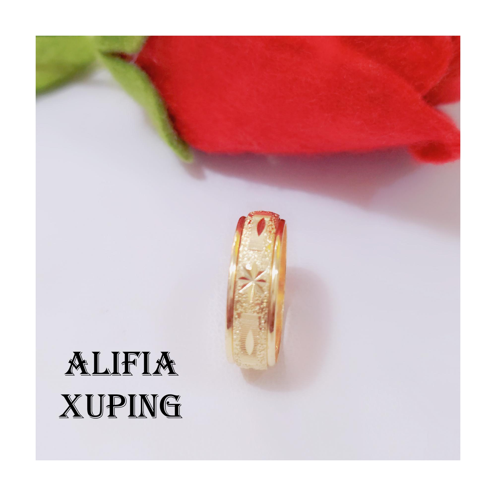 cincin dubai emas 24k doa ibu motif corak alaskah polos