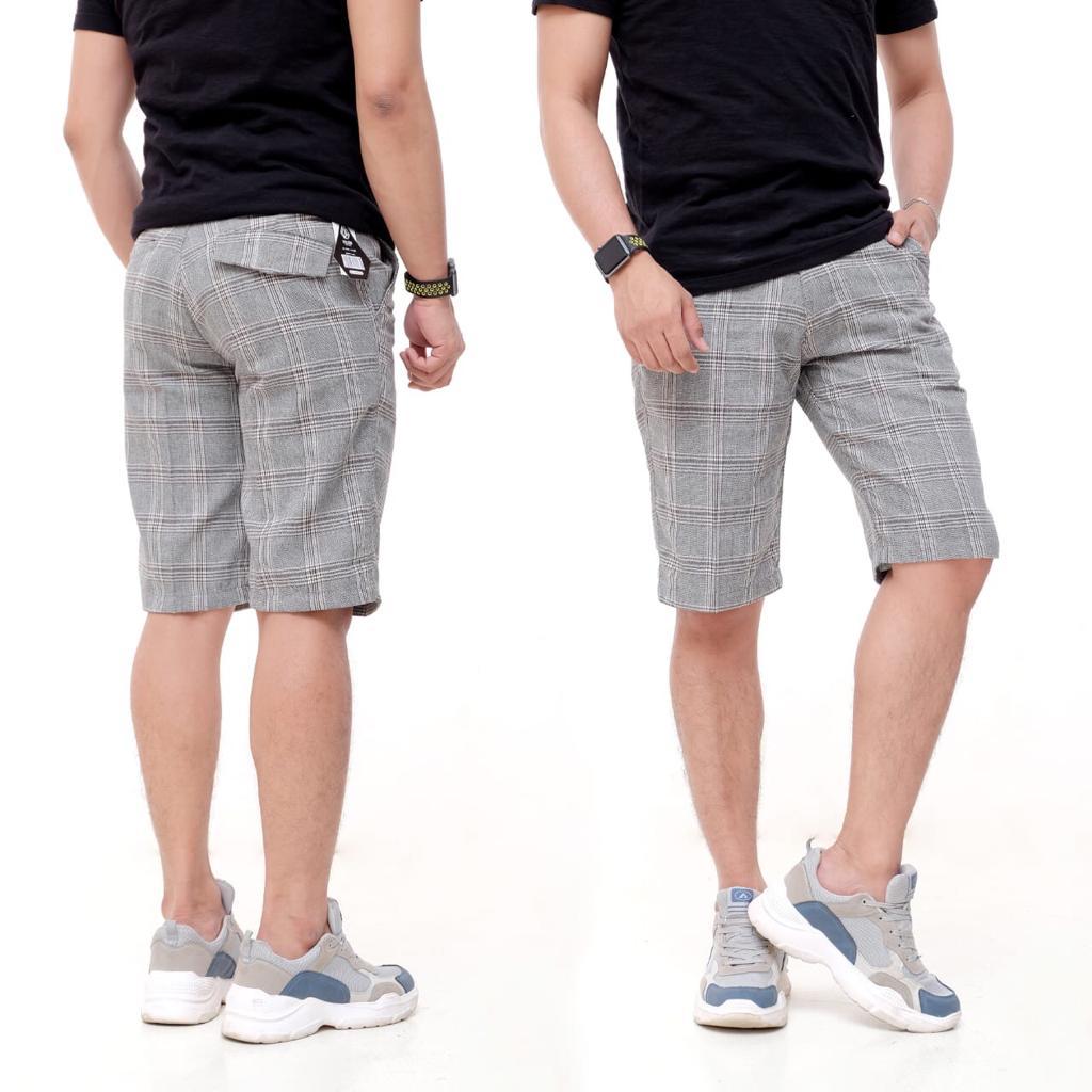 [ cod ] celana pendek pria tartan volcom celana pendek distro tartan volcom