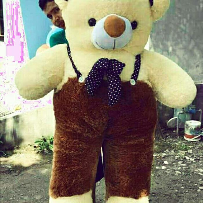 boneka tedy bear super jumbo giant 100cm