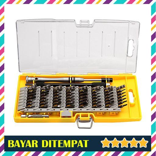 obeng set obeng mini 25-in-1 set obeng portabel ringan multifungsi set obeng pocket dengan magnet  obeng reparasi torx set 25 in 1