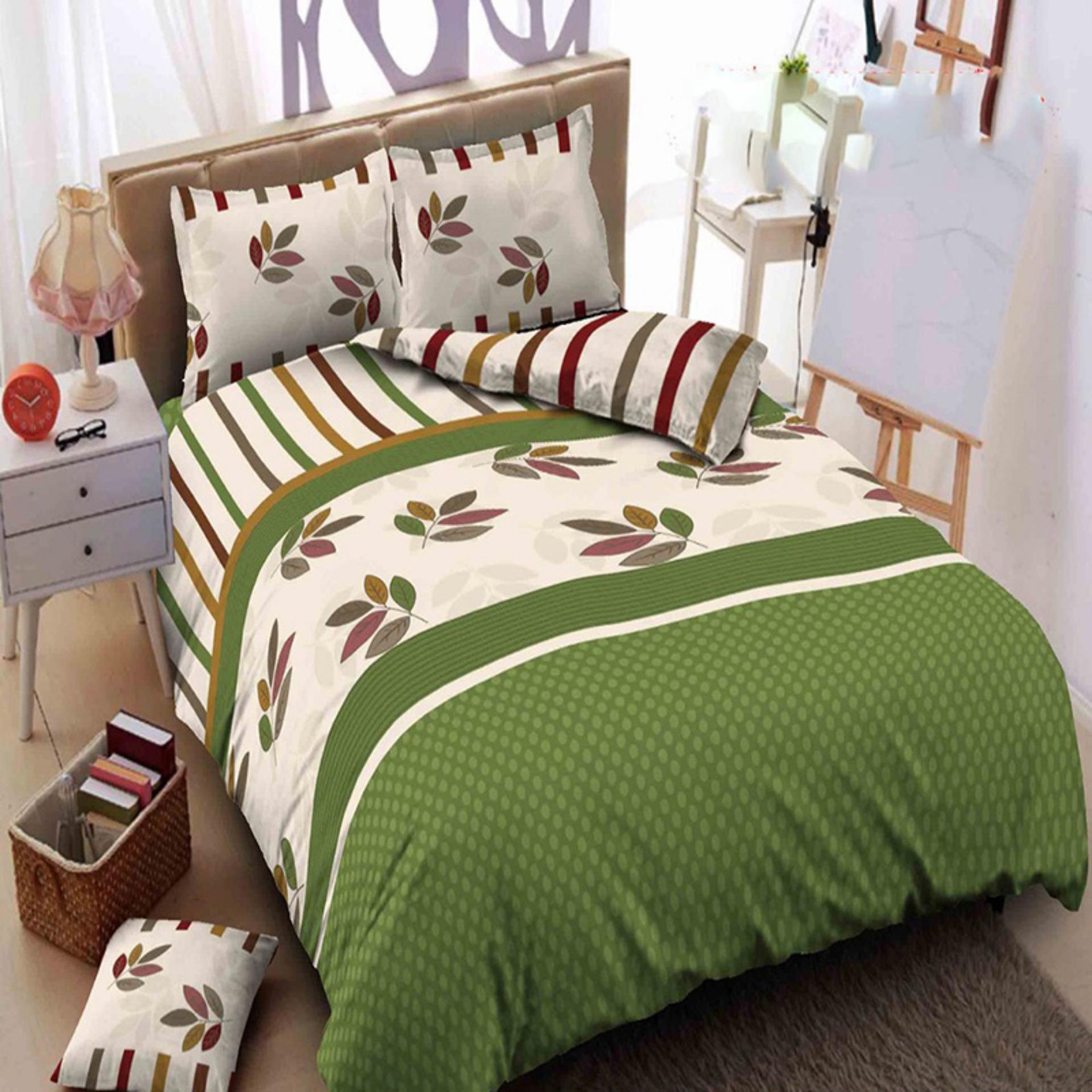 Kintakun Dluxe Bedcover Queen Motif Charlene 160x200 cm