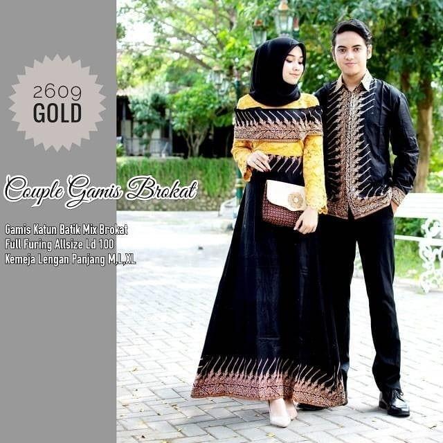 Review Termurah Batik Couple Baju Muslim Wanita Terbaru 2019 Batik