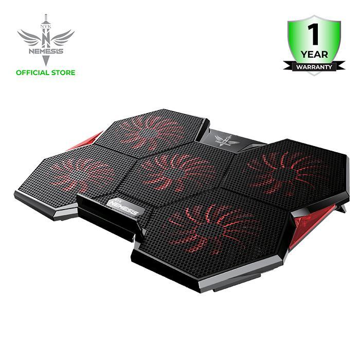 nyk nemesis cooling pad alien x-2 alien kipas pendingin laptop gaming cooler fan
