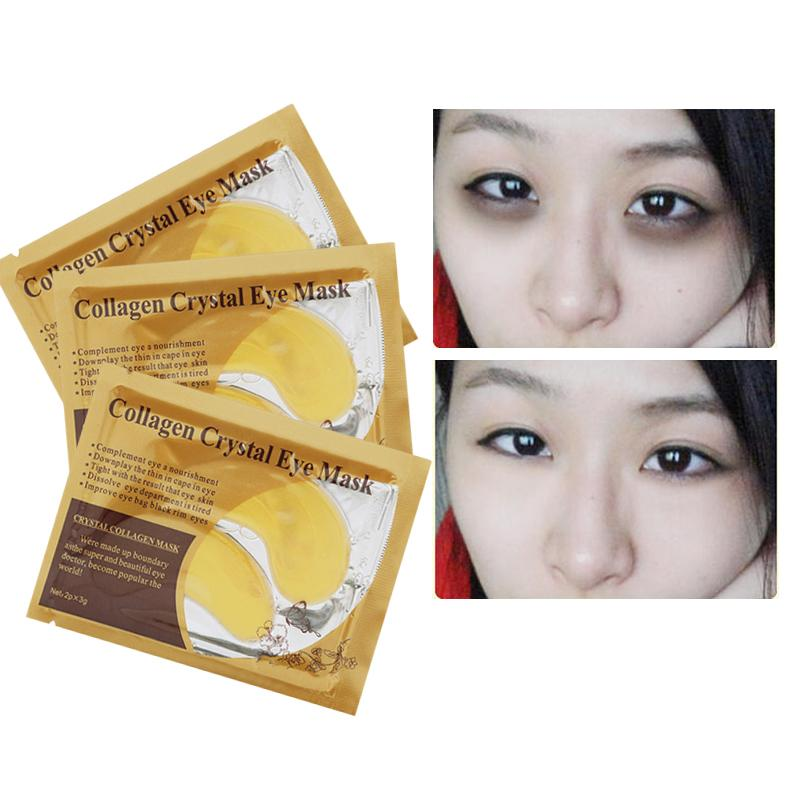 ... JP MART COD Gold Collagen Crystal Eye Mask Masker Mata 1 Sachet - 4 ...