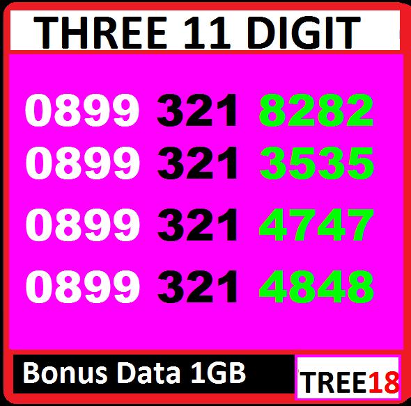 [ bisa cod ] kartu perdana cantik tri [ tree18 ]
