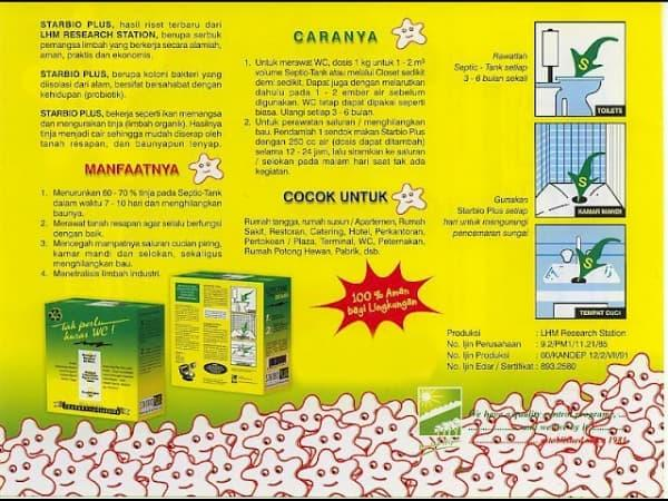 STARBIO PLUS PENGURAS WC - ANTI WC MAMPET