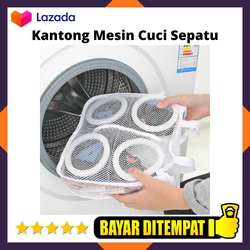 aoli kantung baju mesin cuci laundry bag divider 013hsi