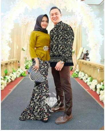 Review Couple Maulana Brown Couple Kemeja Baju Batik Pria Couple