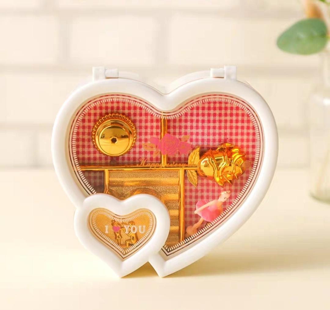 Detail Gambar Kotak Musik (Music Box) love + Ballerina Terbaru