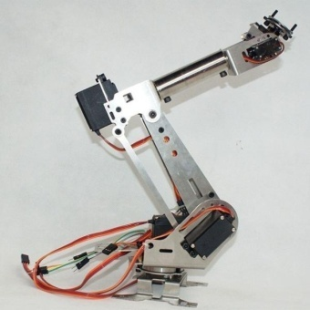 6 degrees of freedom robot arm six-axis Digital Control arm for robot - intl ...