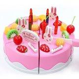 ... 75 Pcs/set Plastik Dapur Kue Ulang Tahun Mainan Pendidikan Awal untuk Anak-Internasional