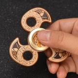 ANGEL Eagle Head Tri Fidget Hand Spinner Metal Finger EDC Focus ADHD Autism Toy Gift -