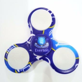 ANGEL Fidget Spinner Camouflage Camo LED Hand Finger Toys EDC Tri-Spinner - Penghilang Stres