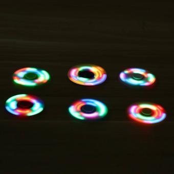 ANGEL - Fidget Spinner LED New Exotic Hand Toys Mainan Tri-Spinner EDC Focus Games