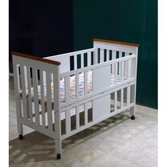 Baby Box / Box Bayi / Ranjang Bayi Nia HK 311 - White (Khusus Jabodetabek