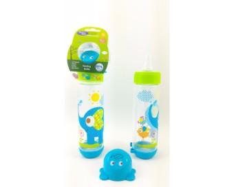 Baby Safe - Feeding Bottle 250 Ml- Botol Susu bayi Reguler Biru