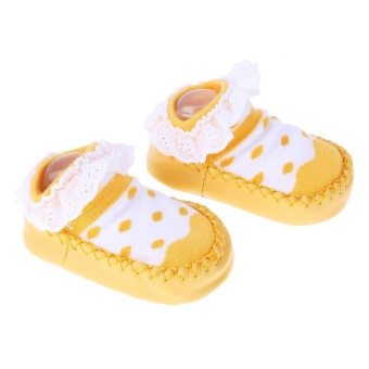 Bayi Sepatu Kaus Kaki Anak-anak Anak-anak Indoor Lantai Kaus Kaki Lace Non