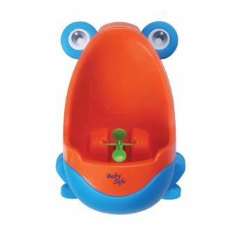 Babysafe Boys training potty / latihan pipis / Pispot cowok / pispot boy ( Biru)