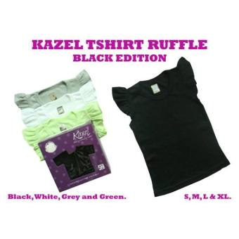 Baju Bayi NEW!!! KAZEL Ruffle Tshirt Edition size XL(3-4