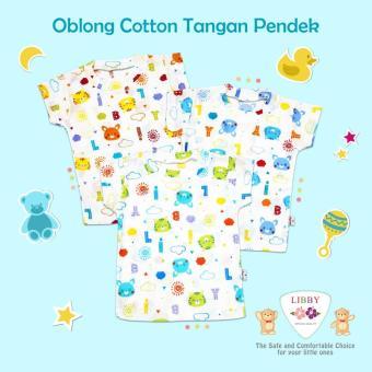 Baju Bayi Oblong Libby Size M 3pcs