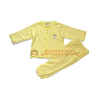 BajuAnakAnak Setelan Baju Tidur Piyama Bayi Newborn Soft Katun BerSNI Murah Polos