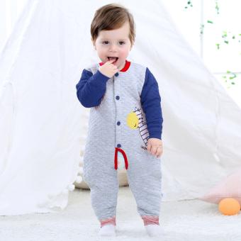 Bayi hangat siam Musim Semi dan Musim Gugur Romper