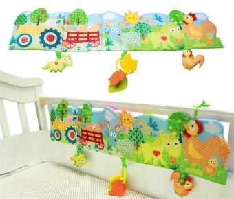 Mainan Bayi Baju Bayi Buku Pengetahuan Sekitar Multi-touch Multifungsi Menyenangkan dan Double Warna Colorful