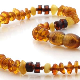 BE130 Kalung Baltic Amber Baby