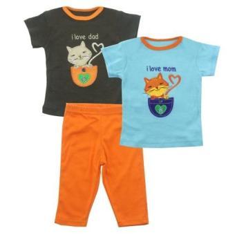 Fitur Sepatu Bayi Lembut Untuk Laki Laki I Love Papa Mama Dan Harga ... d122ec2965