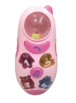 BonBon Mobile Angel Voices / Mainan Music Handphone Pink
