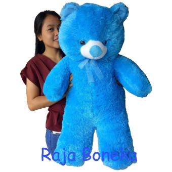 Boneka Beruang Teddy Bear Jumbo 90cm Biru di lapak Raja Boneka rajaboneka 57eeab55f8