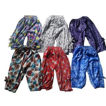 Buy 1 Get 6 Bawahan Anak Perempuan - Celana Anak Motif 0-2 Tahun