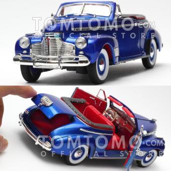 Chevrolet SP Deluxe 1941 Tomtomo Diecast Miniatur Mobil Mobilan Klasik Antik Classic Kado Ultah Mainan Anak