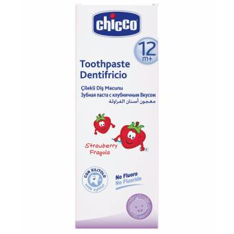 Chicco Dentifricio Toothpaste - Strawberry Flavor