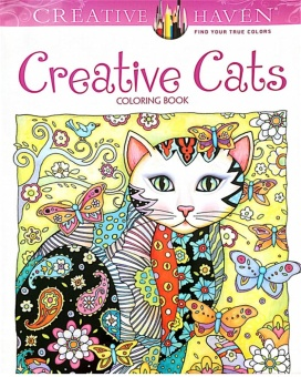 Creative Haven Creative Cats Colouring Book For Adults AntistressColoring Book Secret Garden Series Adult Coloring Book - intl