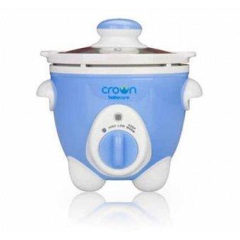 Crown Slow Cooker Untuk Makanan Bayi - Biru