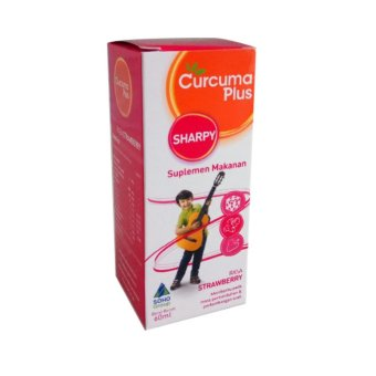 CURCUMA PLUS SHARPY STRAWBERRY 60 ML