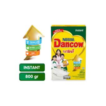 DANCOW Enriched Fortigro Susu Plain Box - 800g