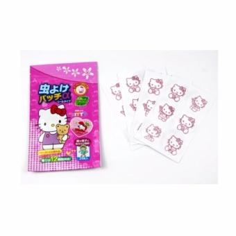 Disney Stiker Anti Nyamuk - Hello Kitty isi 24 pcs (1bag)