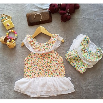 Dress anak cici / baju anak import