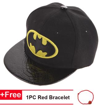 Fashion Musim Panas Batman Baseball Topi Hip Hop Topi untuk Anak-anak Anak- anak