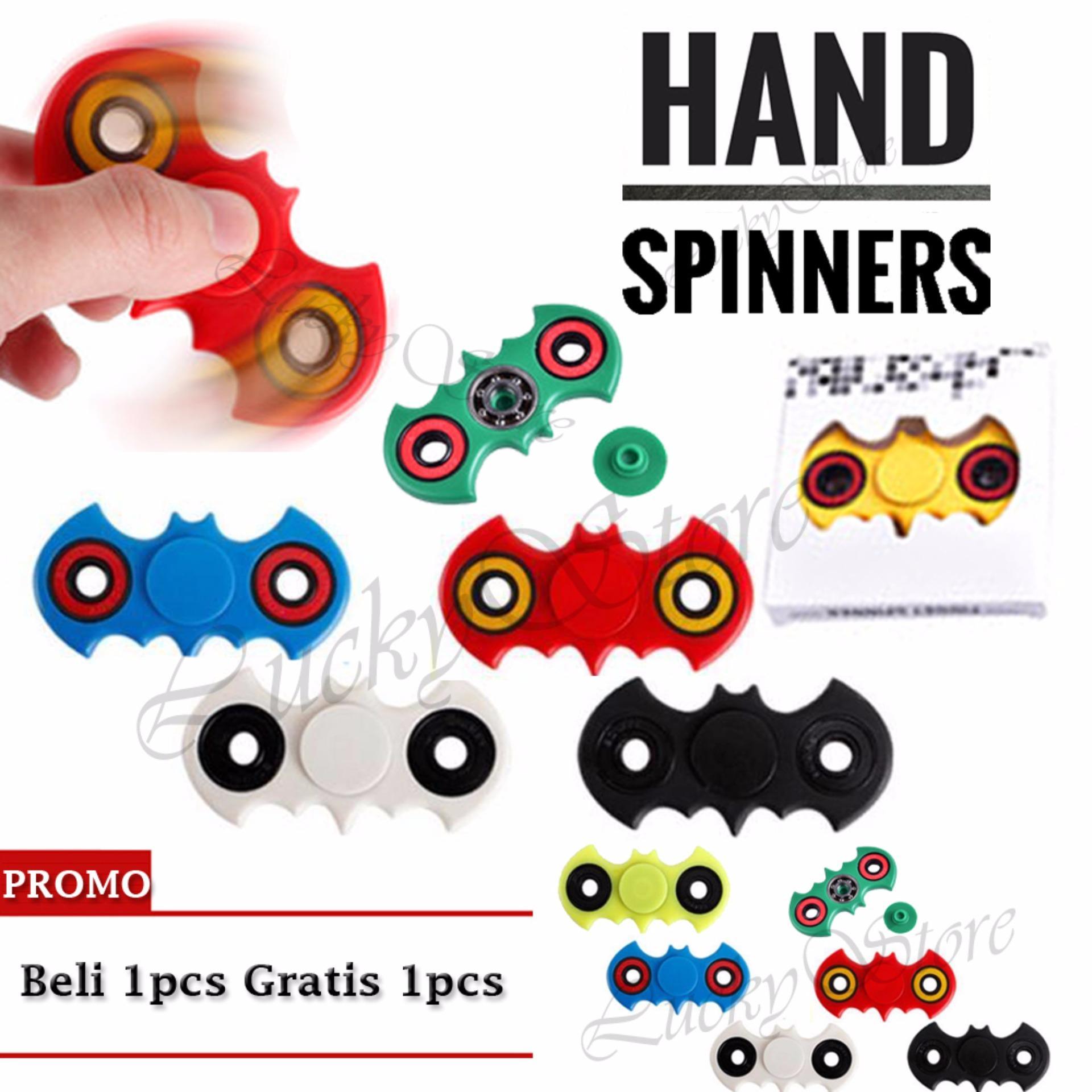 Hot Deals Lucky Fidget Spinner Hand Toys Focus Games / Mainan Spiner Tangan Penghilang Kebiasan Buruk