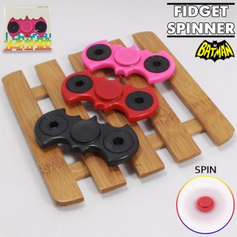 Fidget Spinner KELELAWAR / BAT-MAN SERIES Hand Toys Mainan EDC Ceramic Ball Focus Games