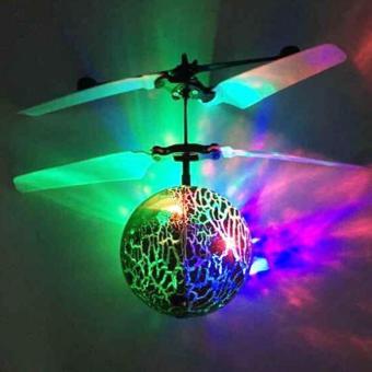 Flying Ball / helicopter Quadcoper Drone Sensor Tangan Toy Mainan Anak Terbang - Bola - Babamu