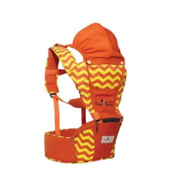 Gendongan Hipseat / Depan Baby Scots - Baby Family Series 3 - Orange