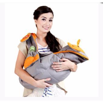 Wulanda Gendongan samping bayi dialogue gajah / tutup menyusui