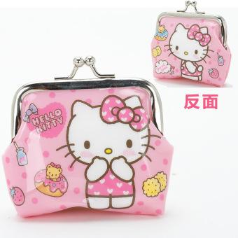 Hello Kitty anak-anak sekolah dasar nol wallet wallet