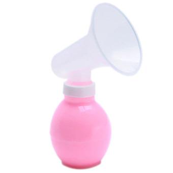 HengSong Manual Pompa Payudara Alat (berwarna Merah Muda)-International