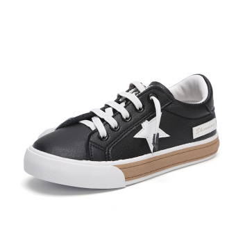 Sepatu Children Musim Semi atau Musim Gugur Sepatu Kanvas Putih Anak Laki- laki Gadis