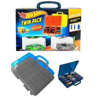 Review of Hot Wheels Twin Pack Carry Case (Isi 2 box hot wheels + 3pcs